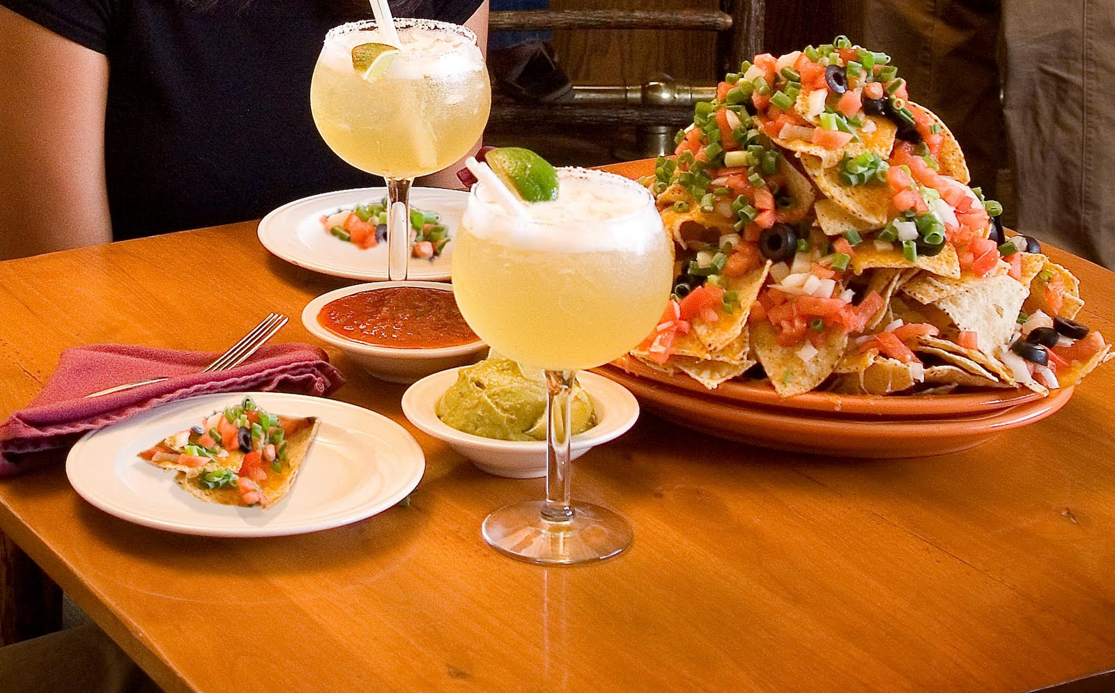 Nachos and Margarita